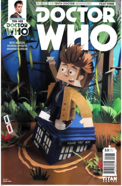 Doctor Who 10th Doctor Year Three #3 Cover C [Titan Comic] LARGE