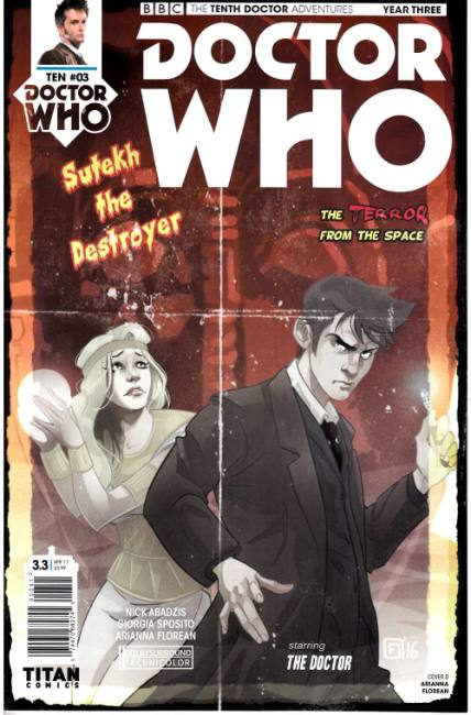 Doctor Who 10th Doctor Year Three #3 Cover D [Titan Comic] THUMBNAIL