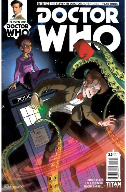 Doctor Who 11th Doctor Year Three #5 Cover A [Titan Comic] THUMBNAIL
