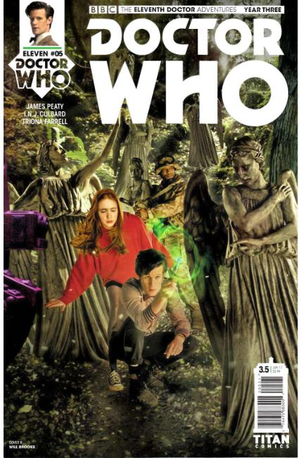 Doctor Who 11th Doctor Year Three #5 Cover B [Titan Comic] LARGE