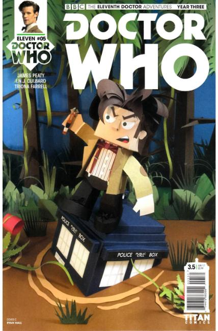 Doctor Who 11th Doctor Year Three #5 Cover C [Titan Comic] THUMBNAIL