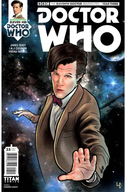 Doctor Who 11th Doctor Year Three #5 Cover D [Titan Comic] THUMBNAIL