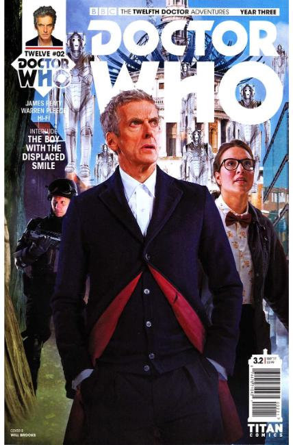 Doctor Who 12th Doctor Year Three #2 Cover B [Titan Comic] THUMBNAIL