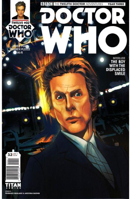Doctor Who 12th Doctor Year Three #2 Cover D [Titan Comic] THUMBNAIL