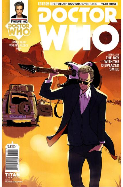 Doctor Who 12th Doctor Year Three #2 Cover E [Titan Comic] THUMBNAIL