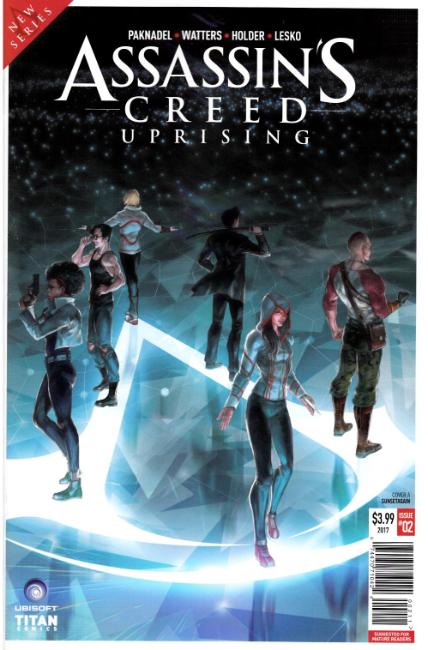 Assassins Creed Uprising #2 Cover A [Titan Comic] THUMBNAIL