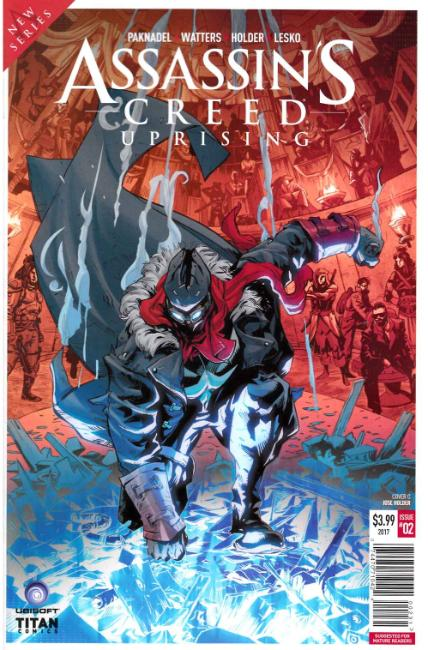 Assassins Creed Uprising #2 Cover C [Titan Comic] THUMBNAIL