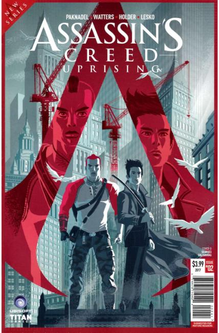 Assassins Creed Uprising #2 Cover D [Titan Comic] THUMBNAIL