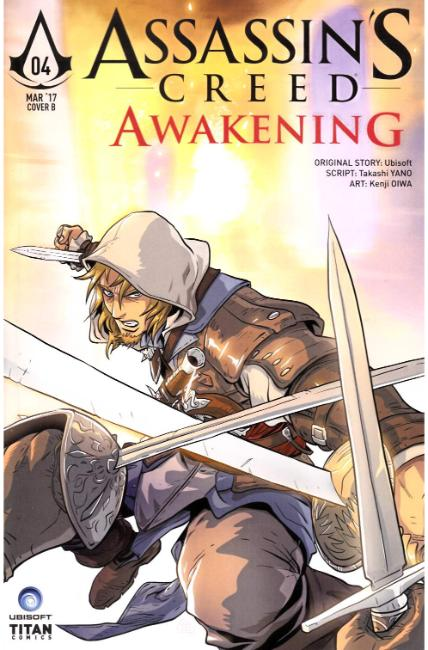 Assassins Creed Awakening #4 Cover B [Titan Comic] THUMBNAIL