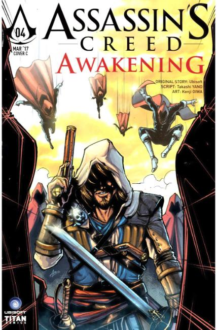 Assassins Creed Awakening #4 Cover C [Titan Comic] THUMBNAIL
