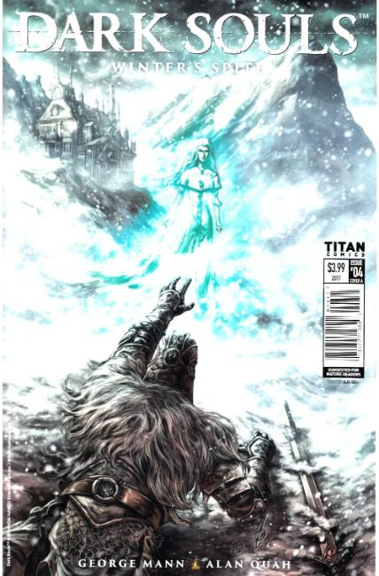 Dark Souls Winters Spite #4 Cover A [Titan Comic] THUMBNAIL