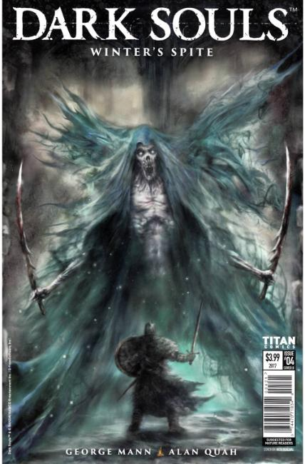 Dark Souls Winters Spite #4 Cover B [Titan Comic] THUMBNAIL