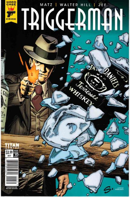Hard Case Crime Triggerman #5 Cover C [Titan Comic] LARGE