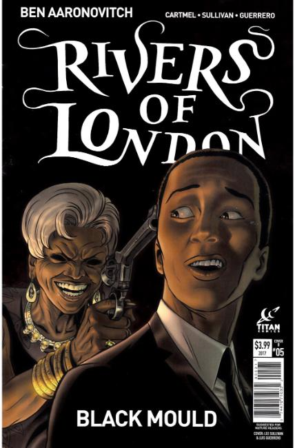 Rivers of London Black Mould #5 Cover B [Titan Comic] THUMBNAIL