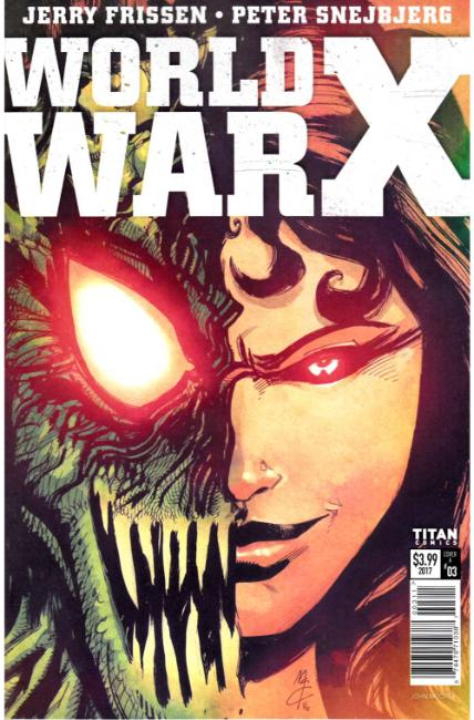 World War X #3 Cover A [Titan Comic]