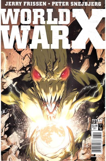 World War X #3 Cover B [Titan Comic]