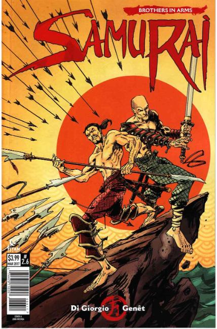 Samurai Brothers in Arms #6 Cover A [Titan Comic] THUMBNAIL