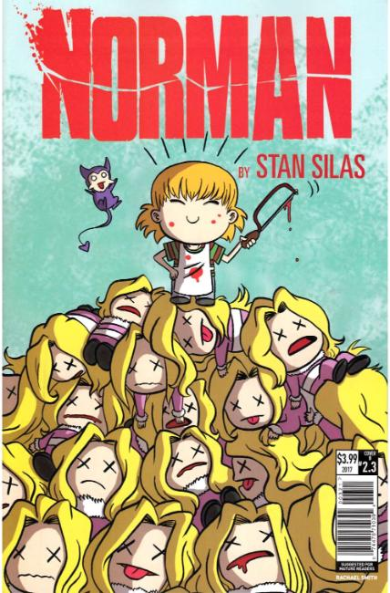 Norman First Slash #3 Cover B [Titan Comic] THUMBNAIL