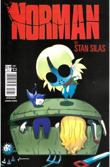 Norman First Slash #3 Cover C [Titan Comic] THUMBNAIL