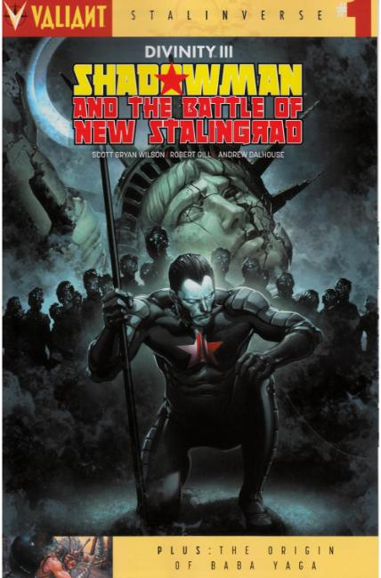 Divinity III Shadowman #1 Cover A [Valiant Comic] THUMBNAIL