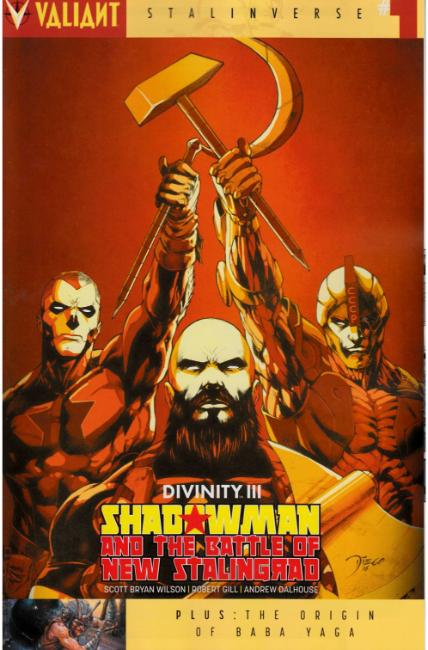 Divinity III Shadowman #1 Cover C [Valiant Comic]
