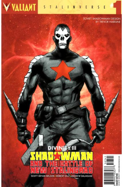 Divinity III Shadowman #1 Cover D- Character Design Hairsine Variant [Valiant Comic] THUMBNAIL