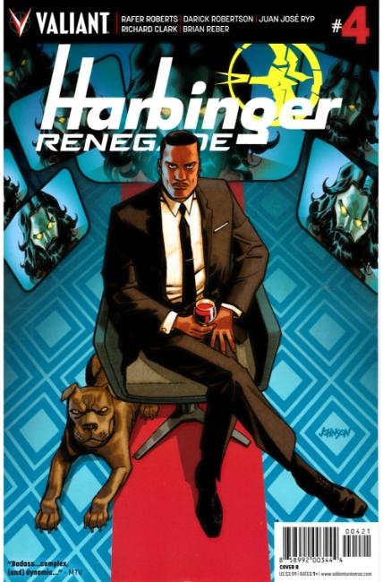Harbinger Renegade #4 Cover B [Valiant Comic]