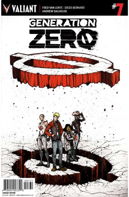 Generation Zero #7 Cover C- Lee Variant [Valiant Comic] THUMBNAIL