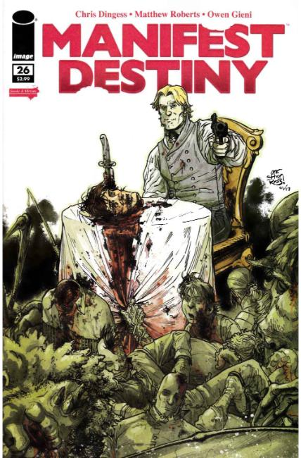 Manifest Destiny #26 Cover B [Image Comic] THUMBNAIL