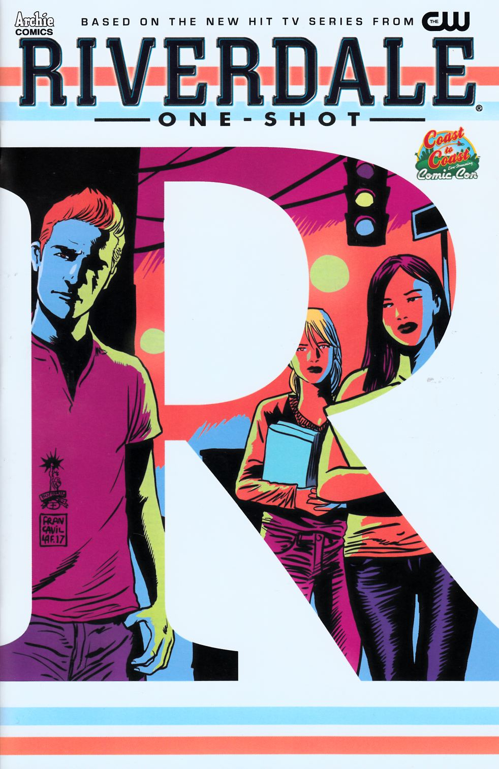 Riverdale (One Shot) Francavilla C2C Exclusive Cover [Archie Comic] THUMBNAIL