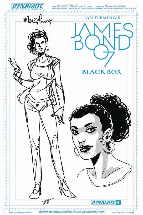 James Bond #1 Cover I- Artboard FOC Incentive [Dynamite Comic] THUMBNAIL