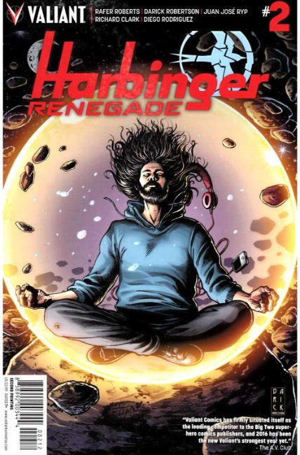 Harbinger Renegade #2 Second Printing [Valiant Comic] THUMBNAIL