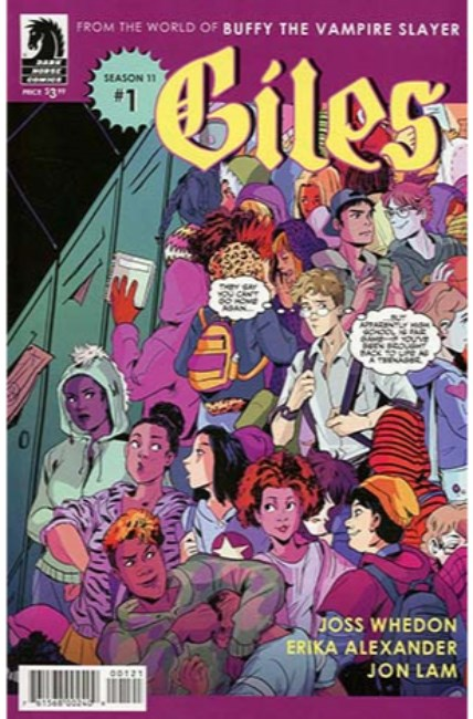 BTVS Season 11 Giles #1 Cover B [Dark Horse Comic]