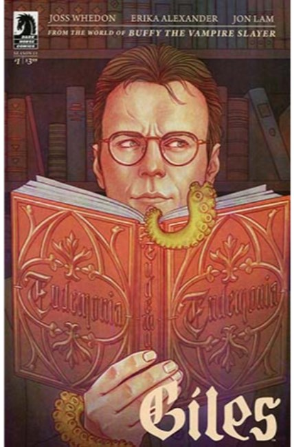 BTVS Season 11 Giles #1 Cover C [Dark Horse Comic] THUMBNAIL
