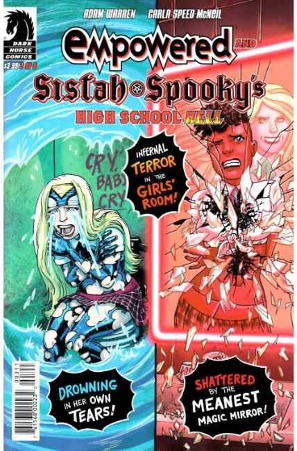 Empowered & Sistah Spookys High School Hell #3 [Dark Horse Comic] LARGE