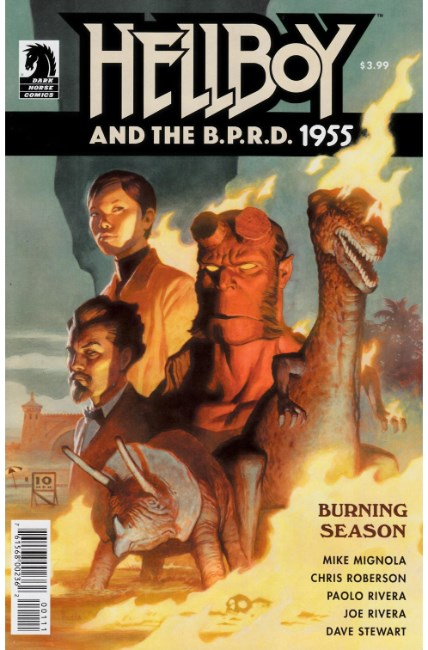 Hellboy & Bprd 1955 Burning Season (One Shot) [Dark Horse Comic]_THUMBNAIL