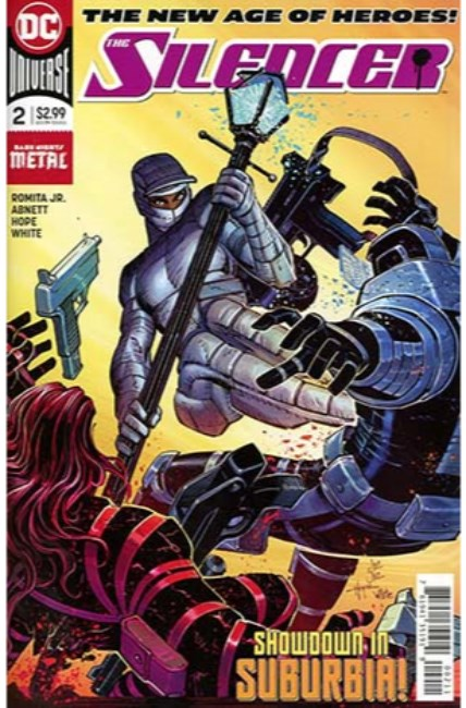 Silencer #2 [DC Comic] LARGE