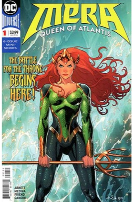 Mera Queen of Atlantis #1 [DC Comic]_THUMBNAIL