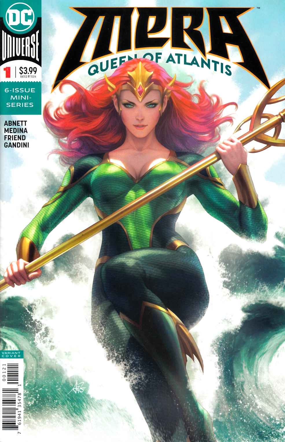 Mera Queen of Atlantis #1 Lau Variant Cover [DC Comic]_THUMBNAIL