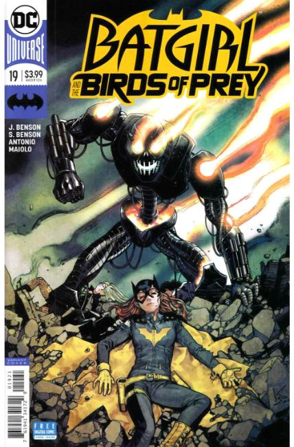 Batgirl and the Birds of Prey #19 Shirahama Variant Cover [DC Comic] LARGE