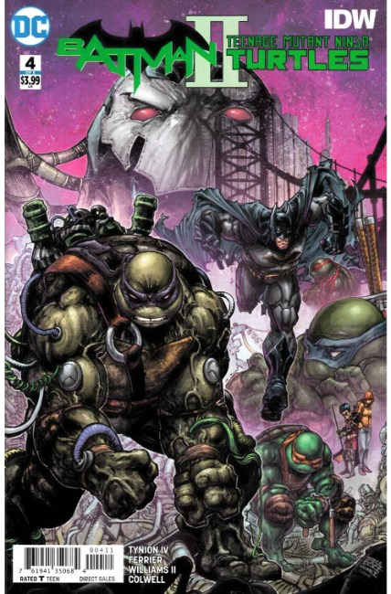 Batman Teenage Mutant Ninja Turtles II #4 [DC Comic] THUMBNAIL