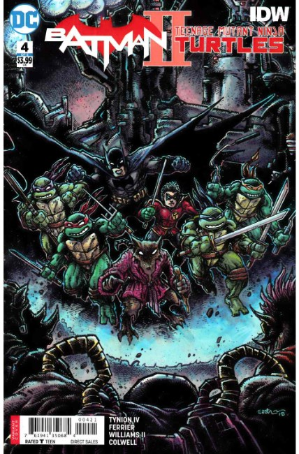 Batman Teenage Mutant Ninja Turtles II #4 Eastman Variant Cover [DC Comic] THUMBNAIL