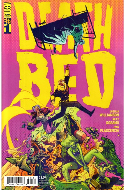 Deathbed #1 [DC Comic] LARGE