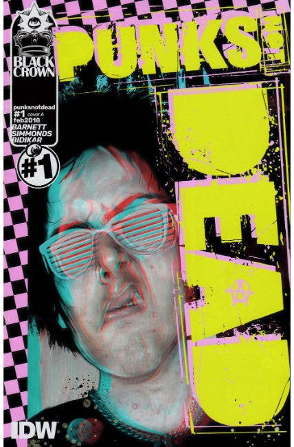 Punks Not Dead #1 Cover A [IDW Comic]