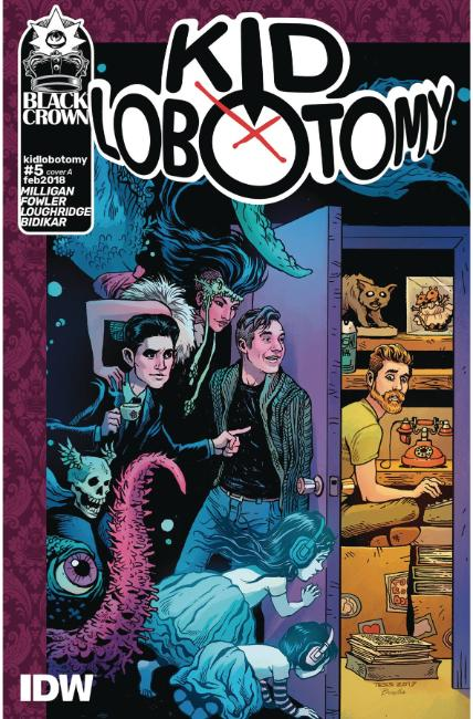 Kid Lobotomy #5 Cover A [IDW Comic]