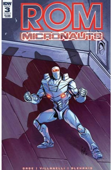 Rom & the Micronauts #3 Cover A [IDW Comic]