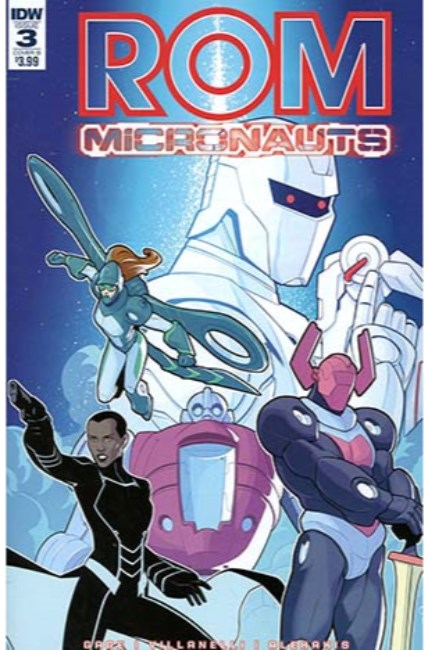 Rom & the Micronauts #3 Cover B [IDW Comic] THUMBNAIL