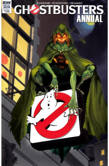 Ghostbusters Annual 2018 (One Shot) Cover A [IDW Comic] THUMBNAIL