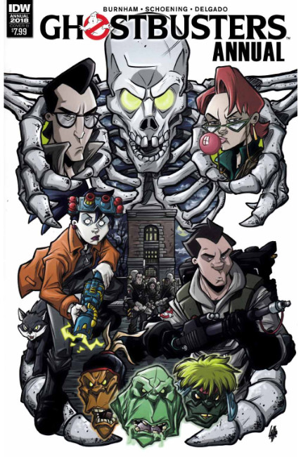 Ghostbusters Annual 2018 (One Shot) Cover B [IDW Comic] THUMBNAIL