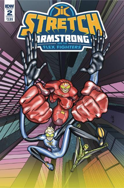 Stretch Armstrong & Flex Fighters #2 Cover A [IDW Comic] THUMBNAIL